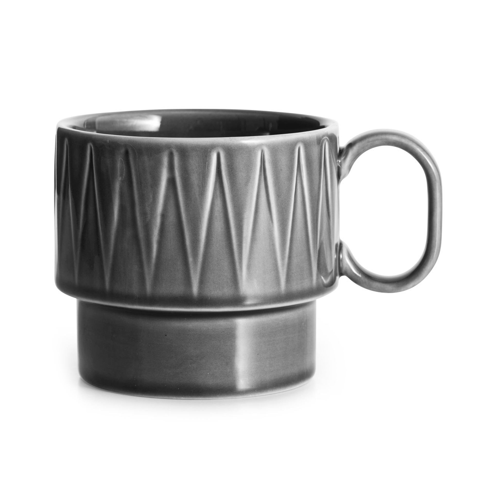 Кружка чайная Sagaform Coffee & More серая 400 мл