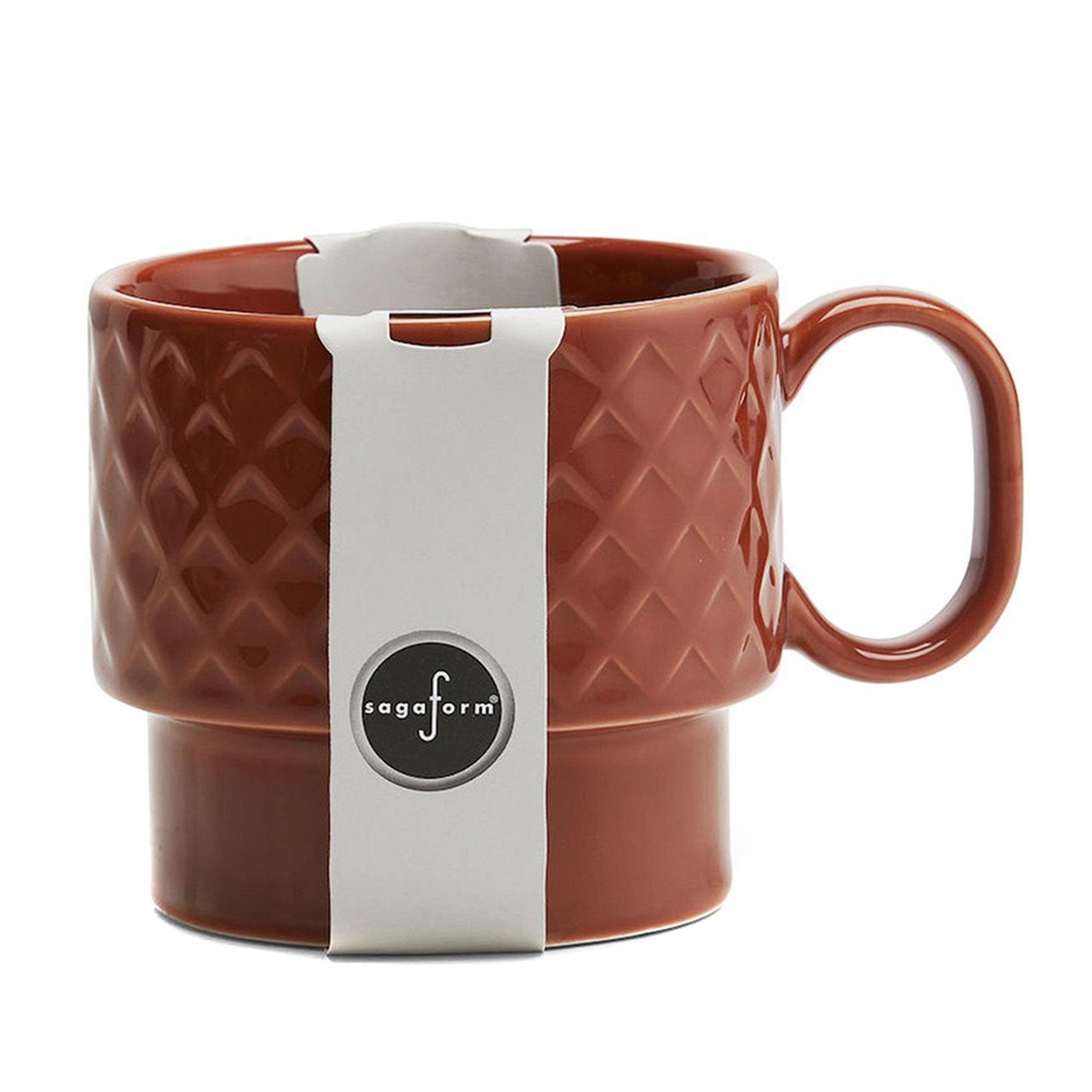 Кружка чайная Sagaform Coffee & More коричневая 400 мл