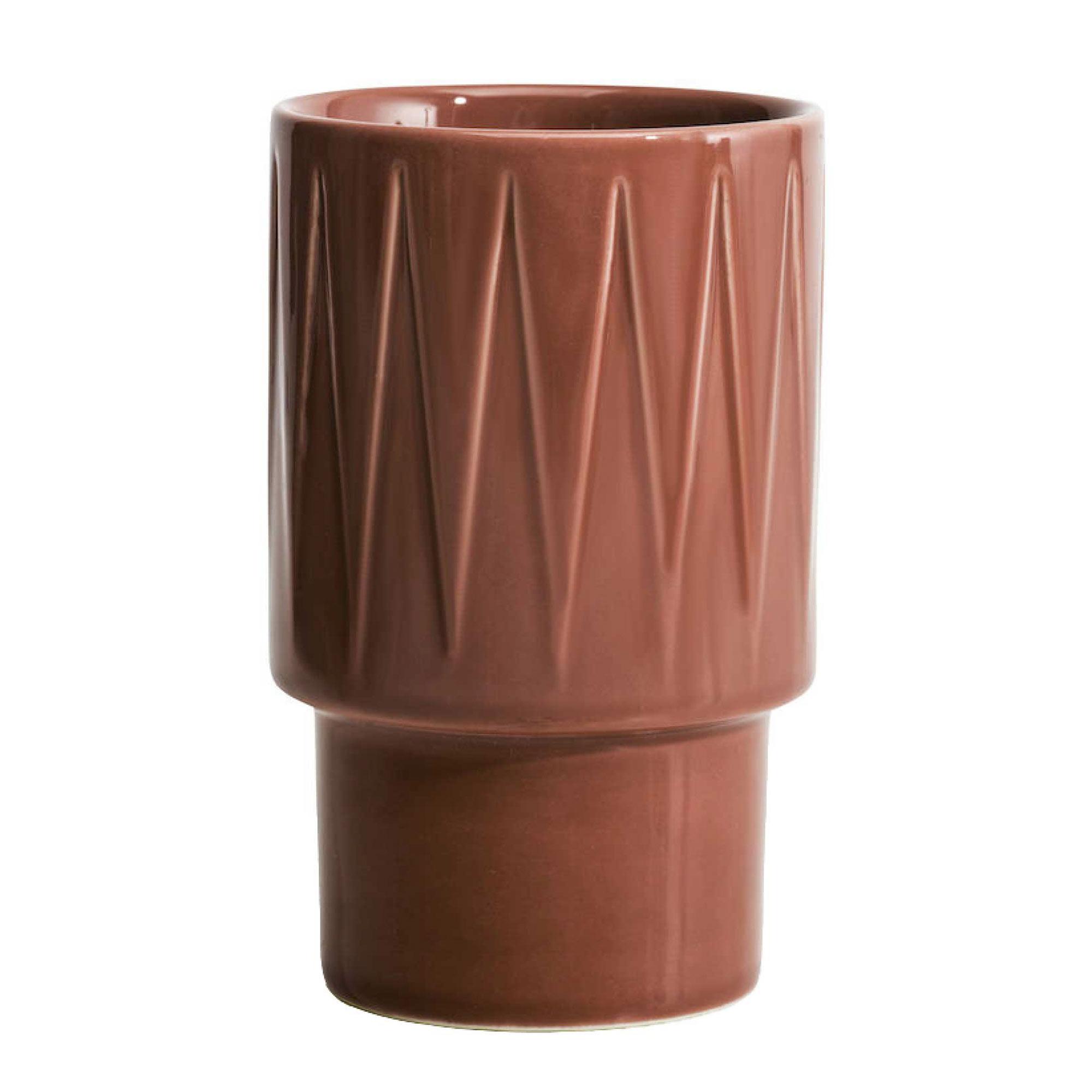 Кружка латте Sagaform Coffee & More коричневая 400 мл
