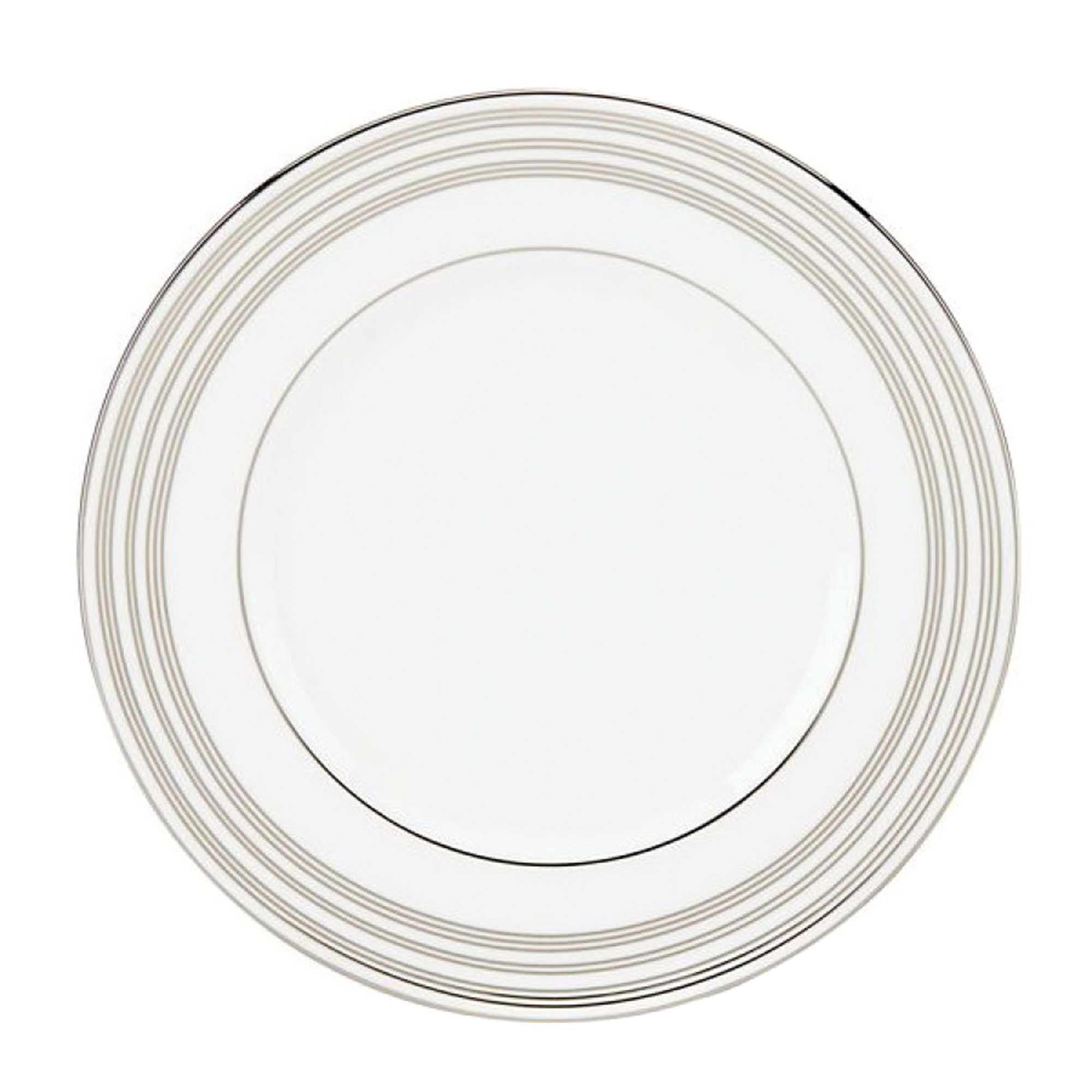 Тарелка Lenox Федеральный платиновый кант 23 см