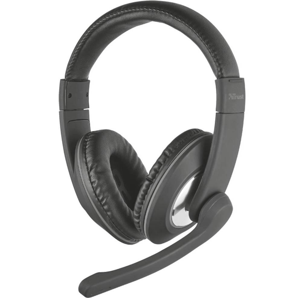 Наушники Trust Reno Headset черный