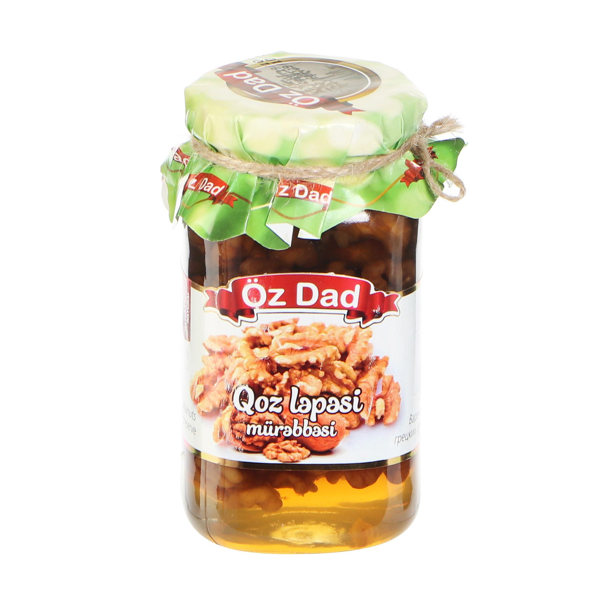 Варенье Oz Dad из грецкого ореха 360 г