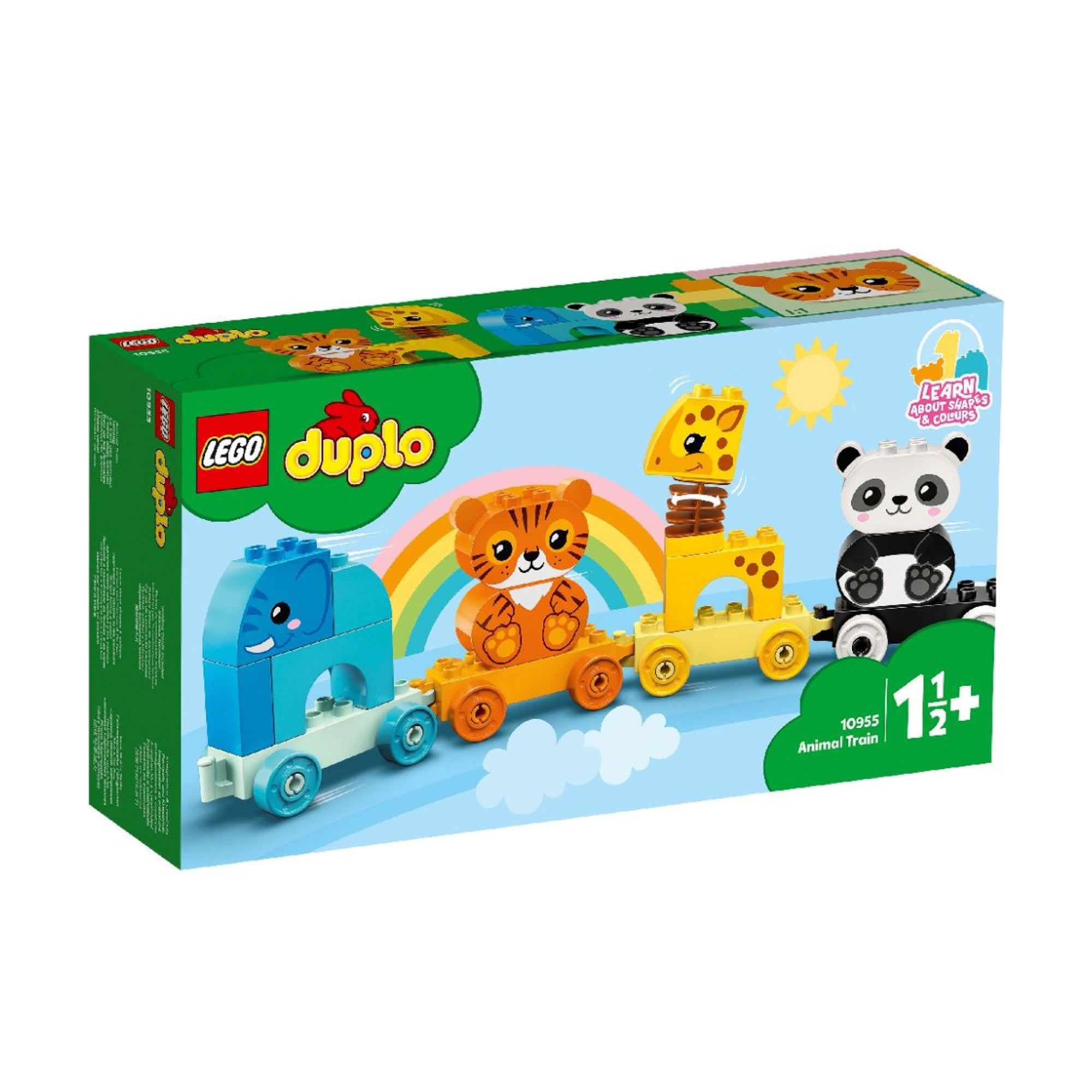 Фото - Конструктор Lego Duplo Мой первый поезд для зверей конструктор lego duplo my first поезд для животных 10955