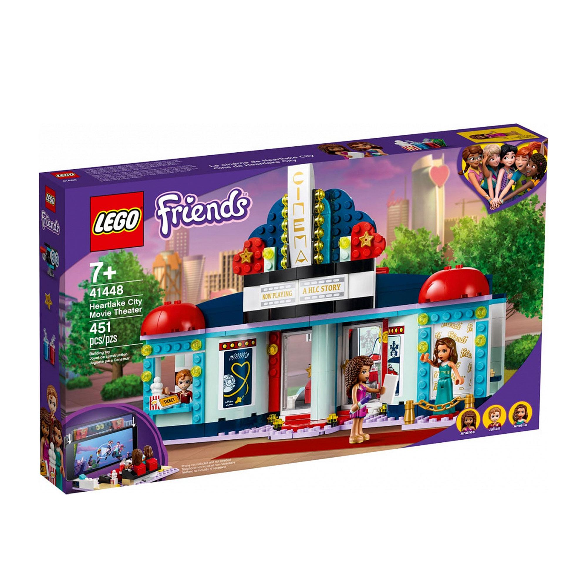 Конструктор Lego Friends Кинотеатр Хартлейк-Сити 41448