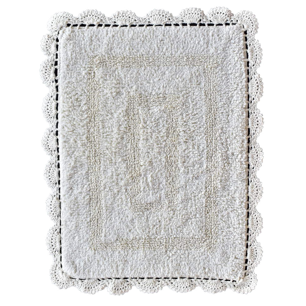 Фото - Набор ковриков для ванны Sofi De Marko Lukas кремовых 60х100/50х70 см набор ковриков для ванны sofi de marko selena капучино 60х100 50х50 см