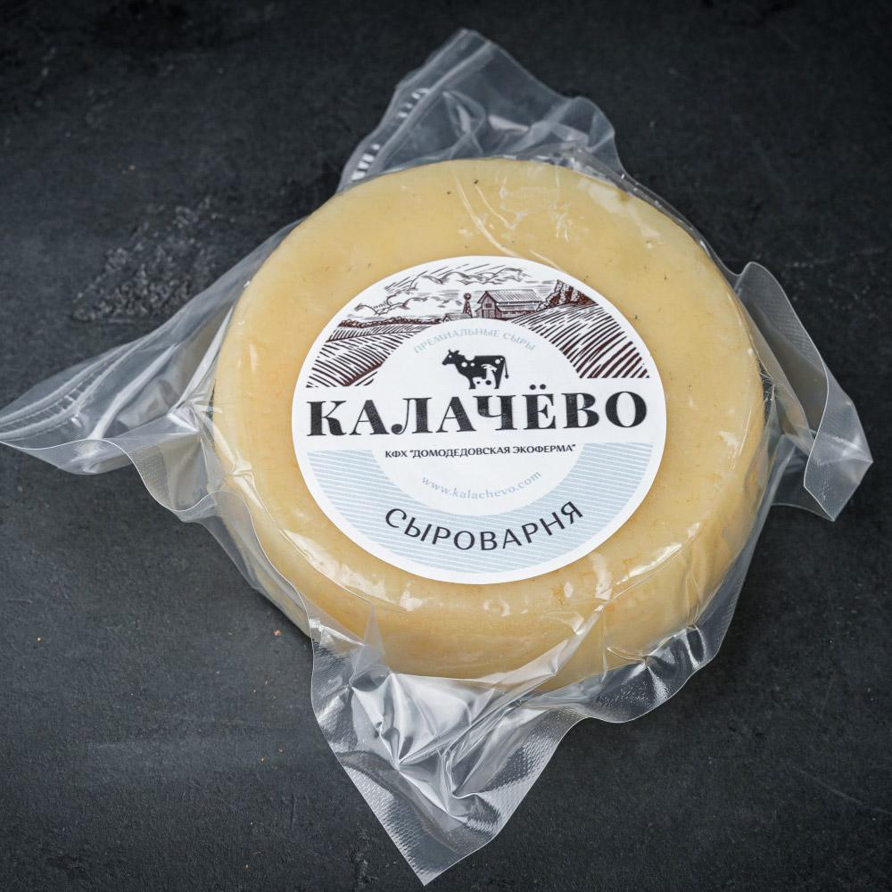 Сыр Калачево Качотта копченый премиум 250 г