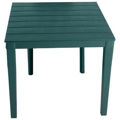 Стол квадратный Элластик-пласт Прованс 80х80см темно-зеленый