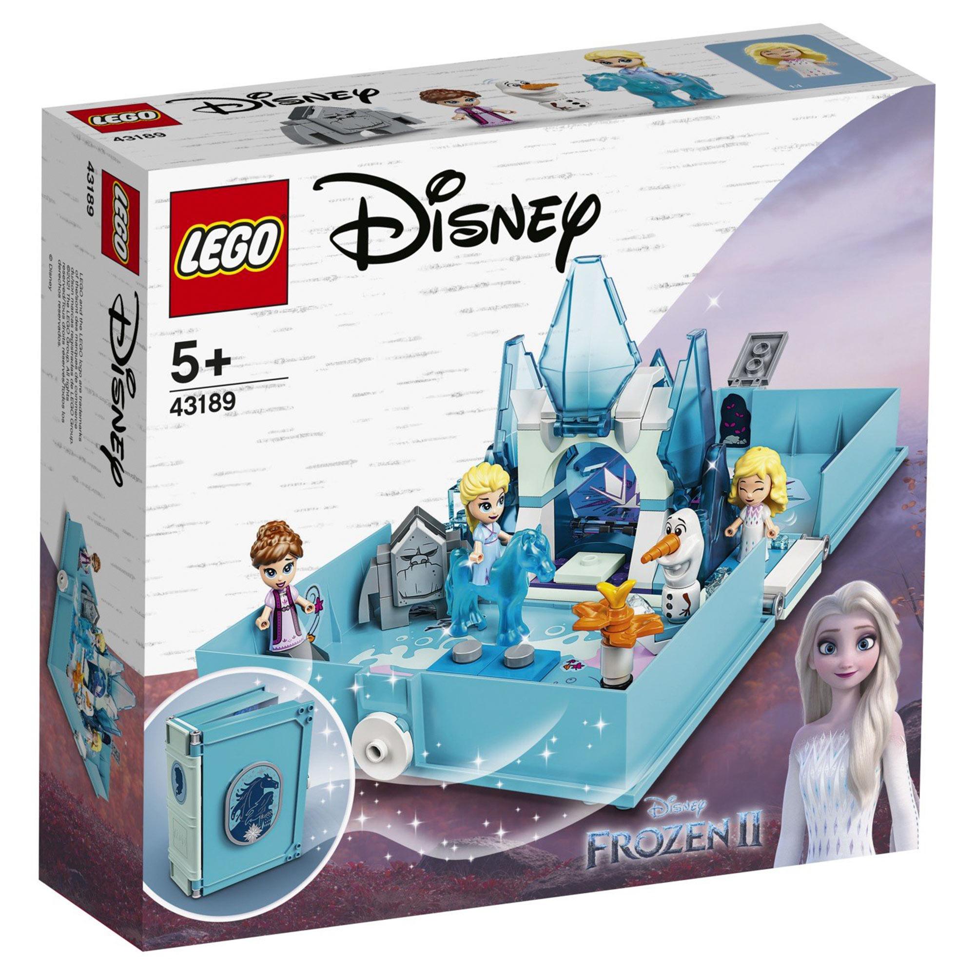 Конструктор Lego Disney Princess Книга сказочных приключений Эльзы и Нока 43189 конструктор lego disney princess 43176 книга сказочных приключений ариэль