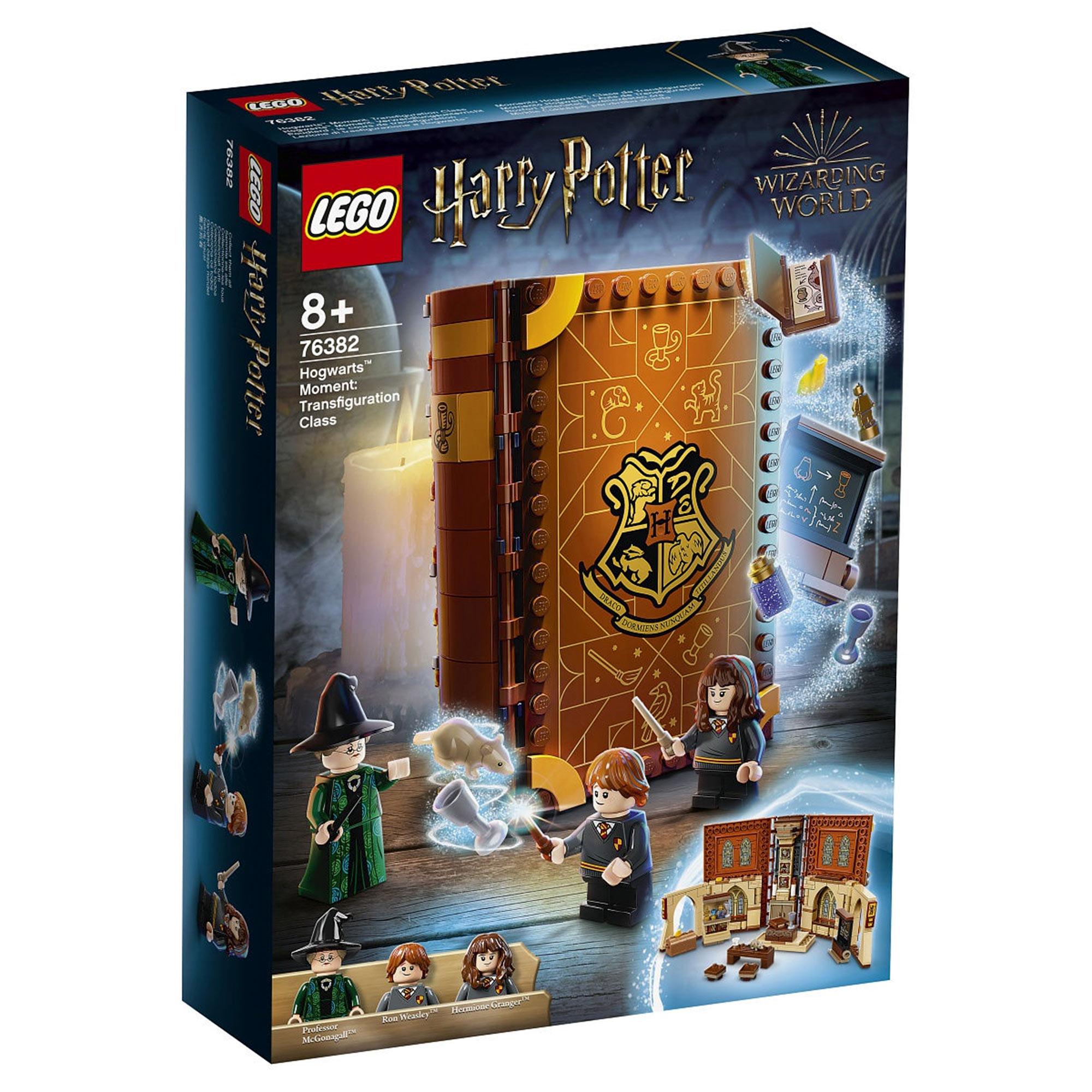 Конструктор Lego Harry Potter Учёба в Хогвартсе: Урок трансфигурации конструктор lego harry potter tm 75967 запретный лес грохх и долорес амбридж