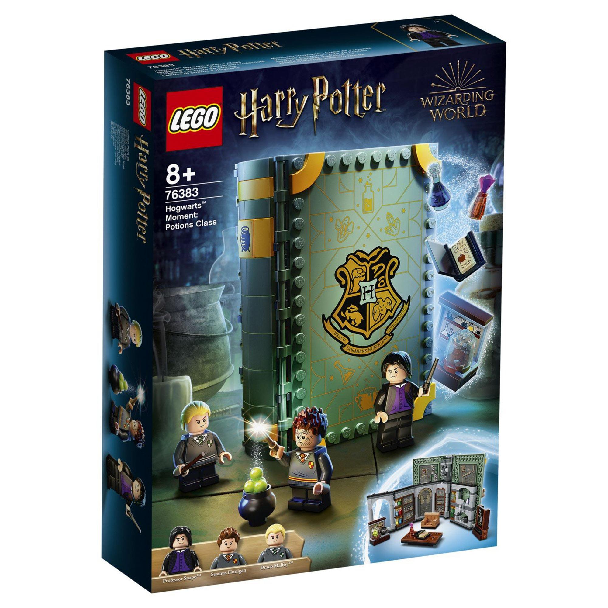 Конструктор Lego Harry Potter Учёба в Хогвартсе: Урок зельеварения конструктор lego harry potter tm 75967 запретный лес грохх и долорес амбридж