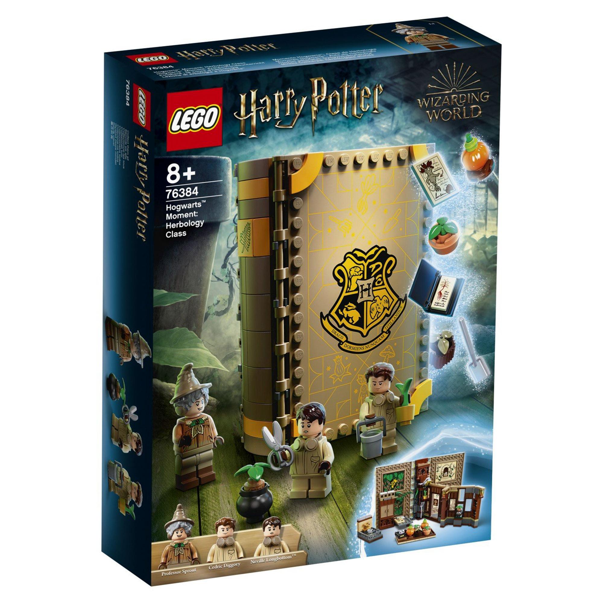 Конструктор Lego Harry Potter Учёба в Хогвартсе: Урок травологии конструктор lego harry potter tm 75967 запретный лес грохх и долорес амбридж