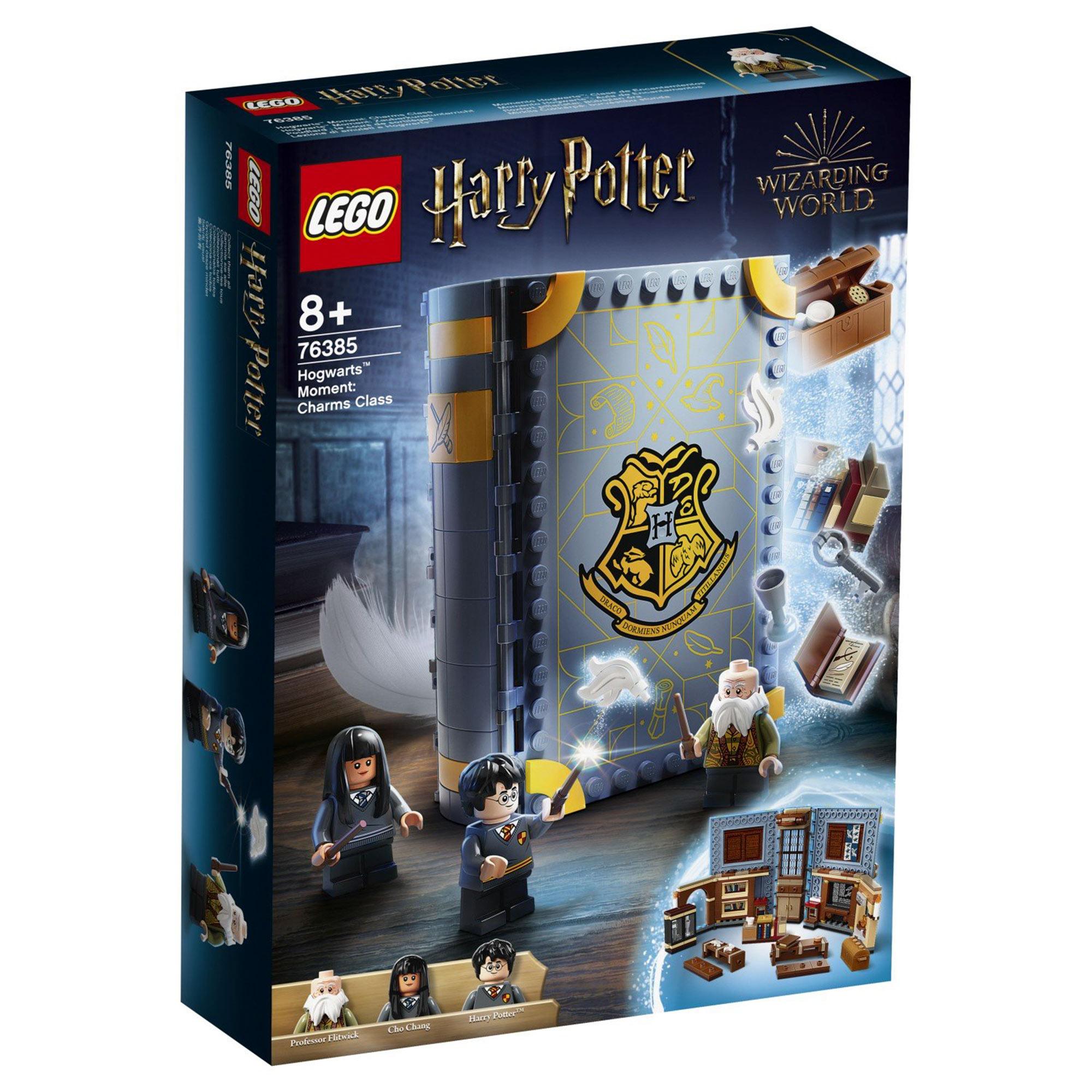 Конструктор Lego Harry Potter Учёба в Хогвартсе: Урок заклинаний конструктор lego harry potter tm 75967 запретный лес грохх и долорес амбридж