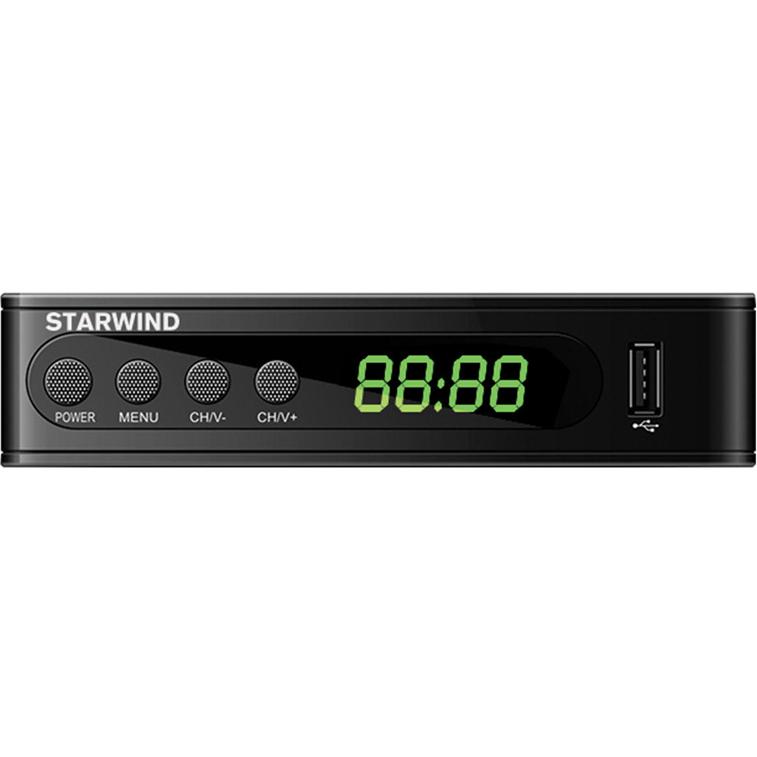 Фото - Ресивер DVB-T2 STARWIND CT-200 черный ресивер dvb t2 starwind ct 100 черный