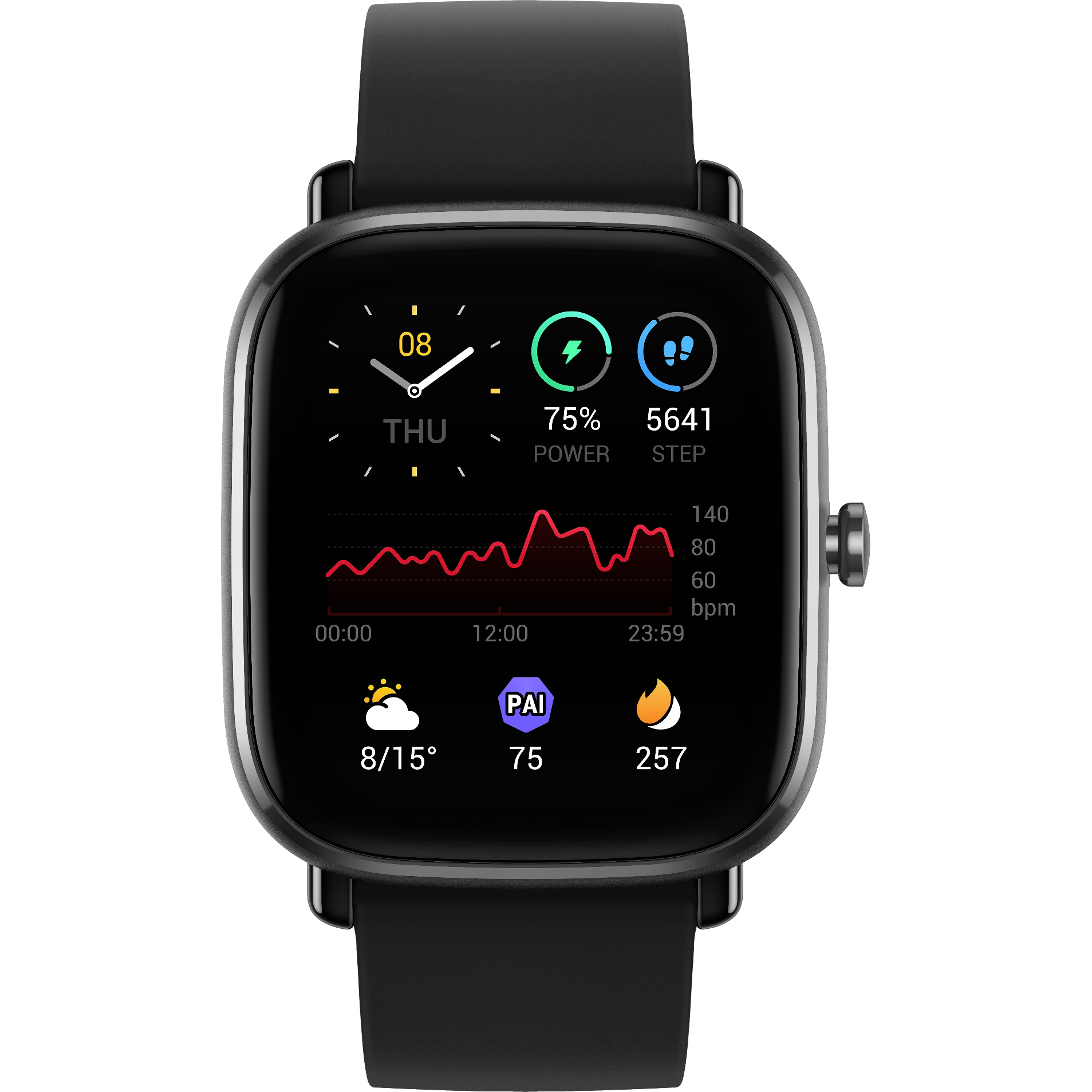 Фото - Смарт-часы Amazfit GTS 2 mini A2018 Black часы amazfit stratos smart sports watch 2 a1619 черный