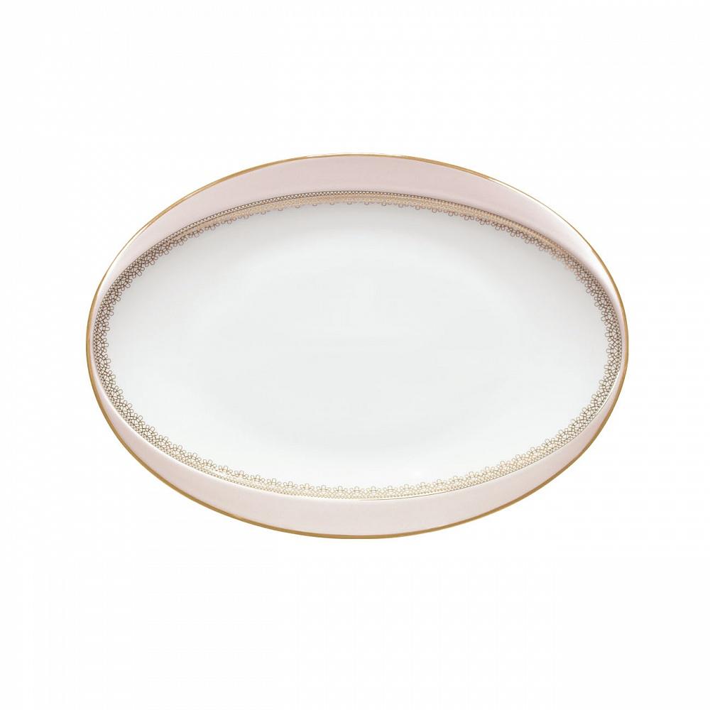 Фото - Овальное блюдо Porcel Ballet Grace 30x22 см чашка porcel grace 260 мл