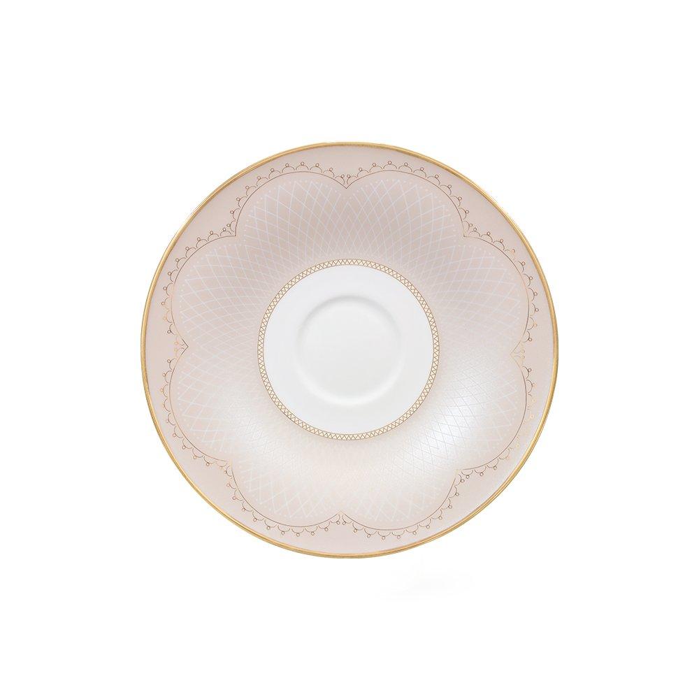 Фото - Блюдце Porcel Ballet Grace 17 см чашка porcel grace 260 мл
