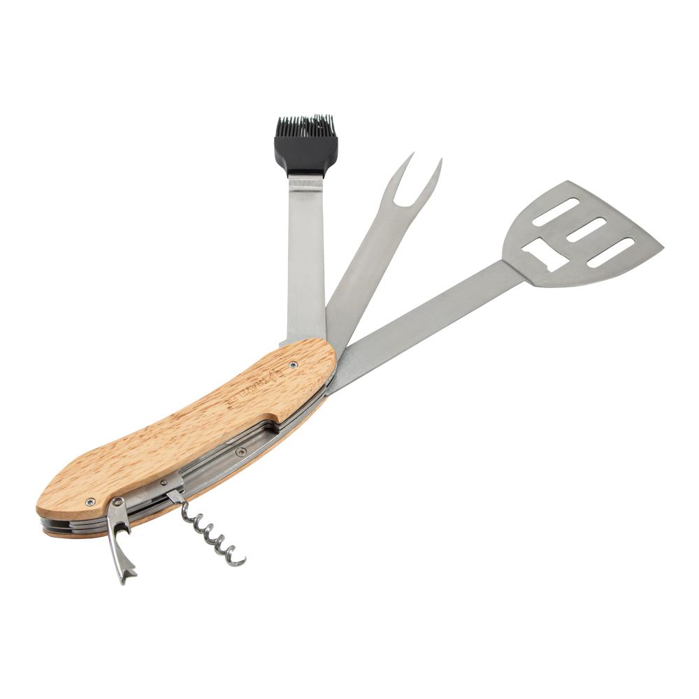 Многофункциональный инструмент для барбекю в чехле Русские подарки