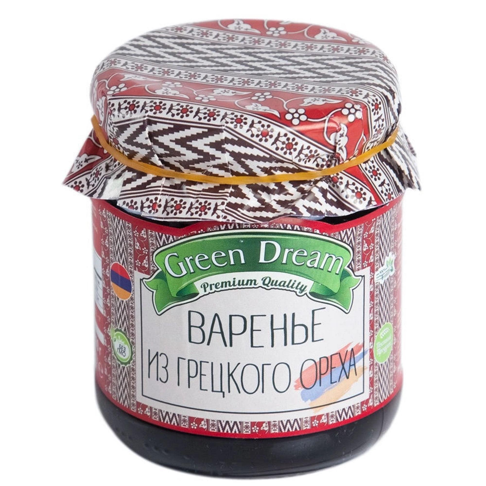 Варенье Green Dream из грецкого ореха 300 г