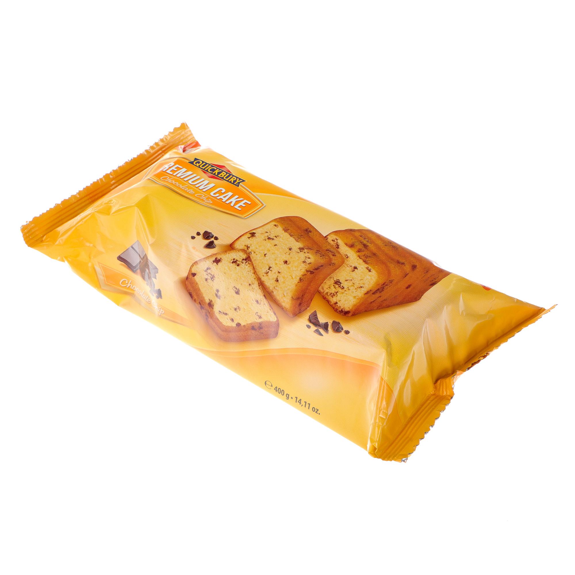 Фото - Кекс Quickbury Premium с шоколадной крошкой, 400 г печенье quickbury с шоколадной крошкой 150 г