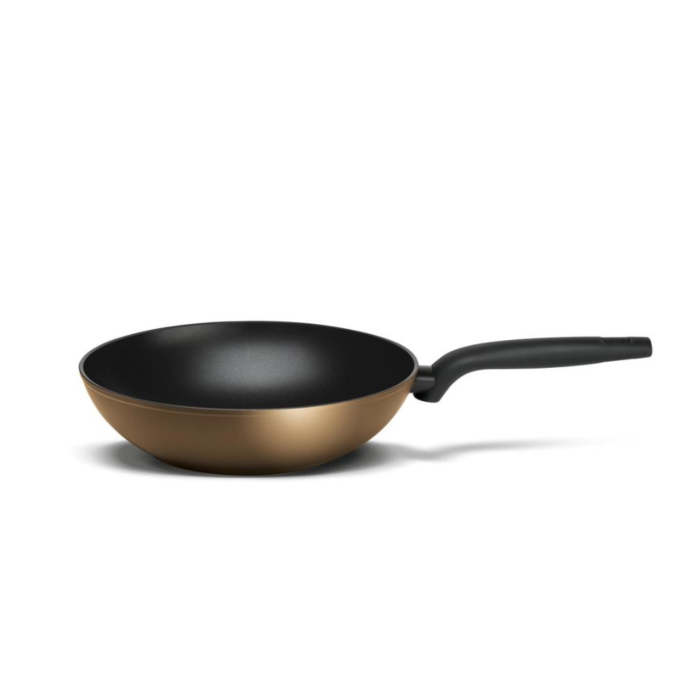 Сковорода-вок TVS Tenace 28 см сковорода вок tvs virtus 28 см