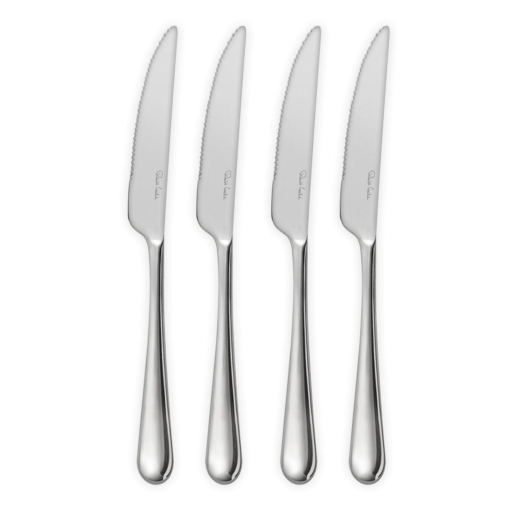 Фото - Набор ножей для стейка Robert Welch Kingham Bright 4 шт набор ножей для стейка robert welch kingham bright 4 шт