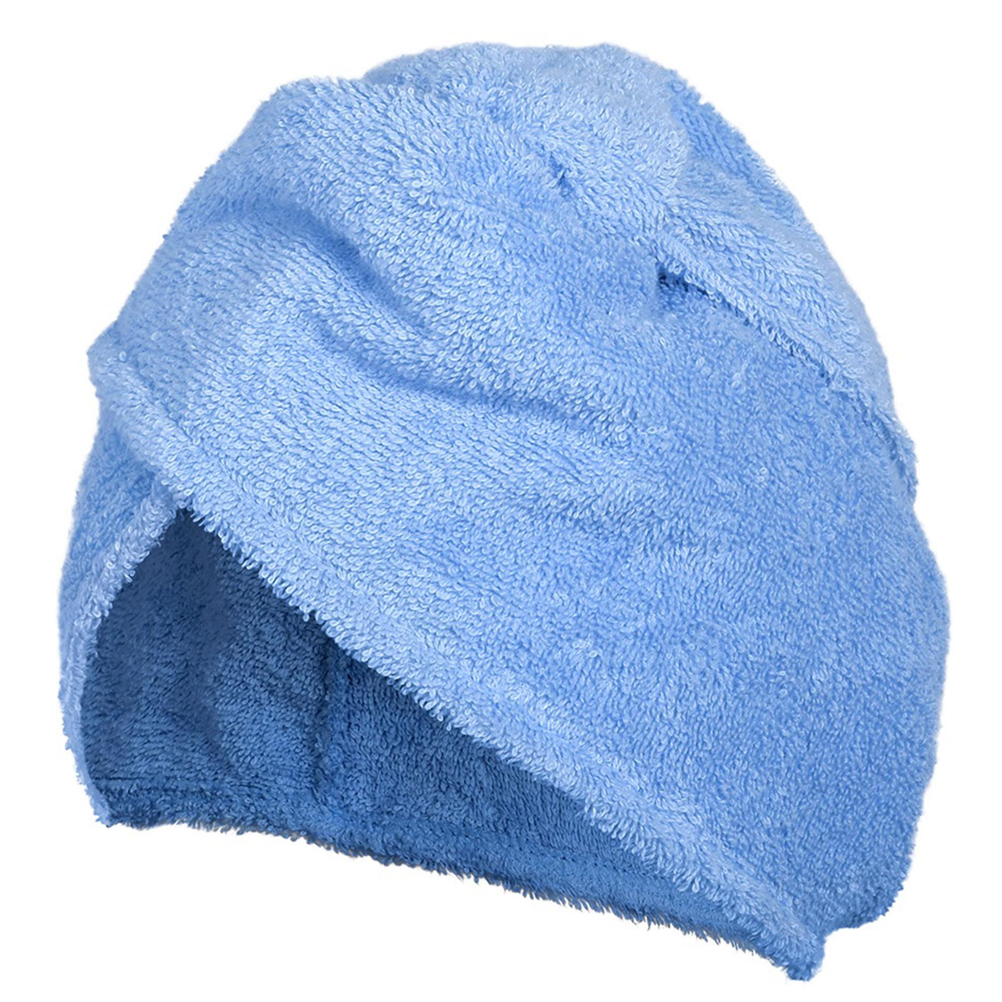Махровая чалма Банные штучки голубая