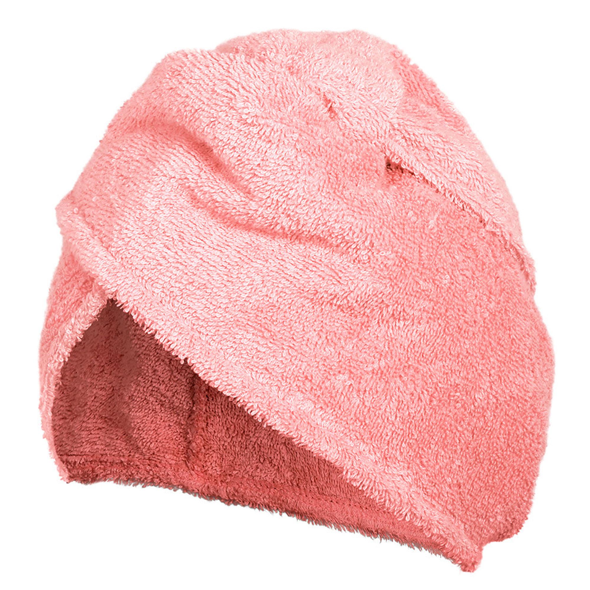 Махровая чалма Банные штучки розовая