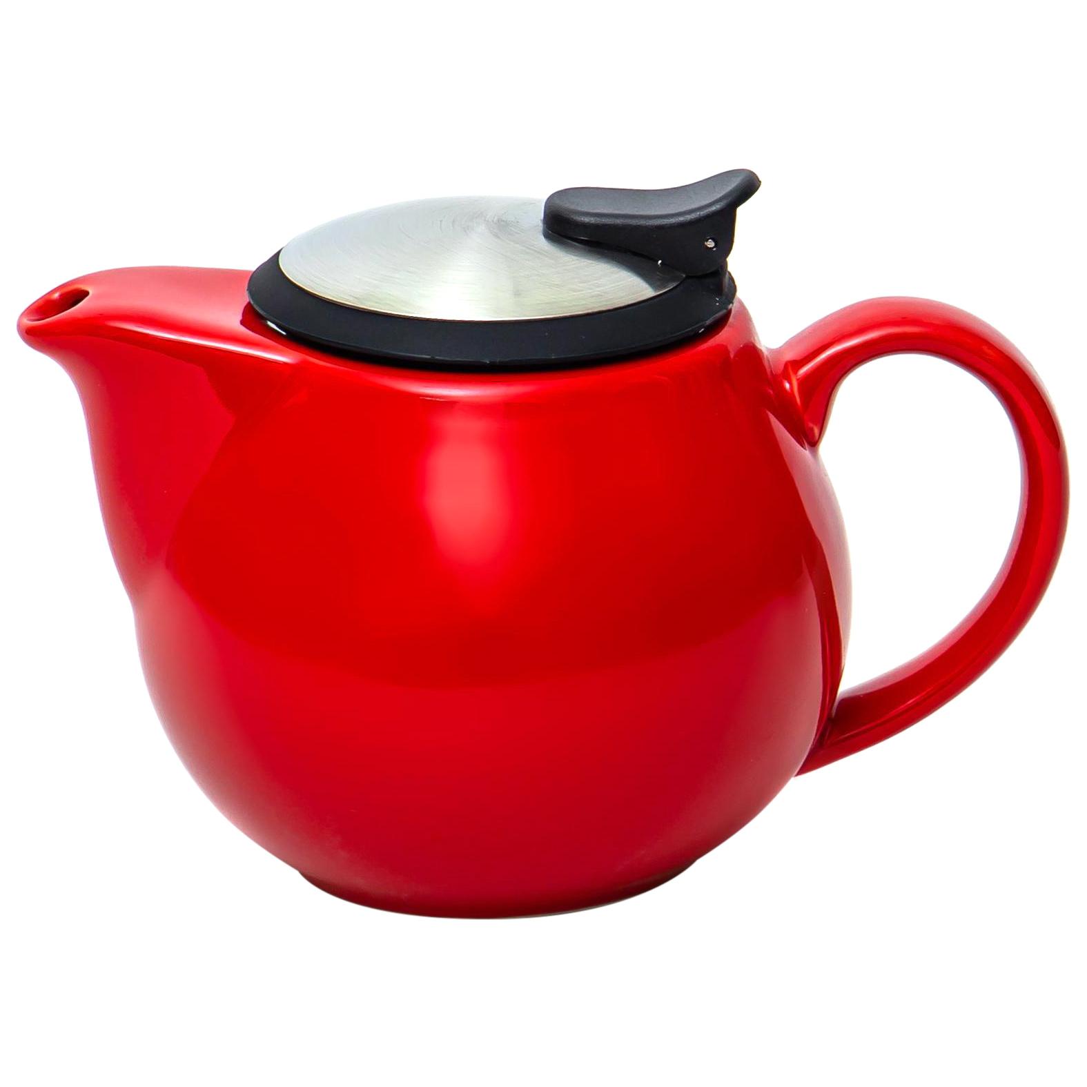 Чайник с фильтром Elrington Феличита 700 мл красный