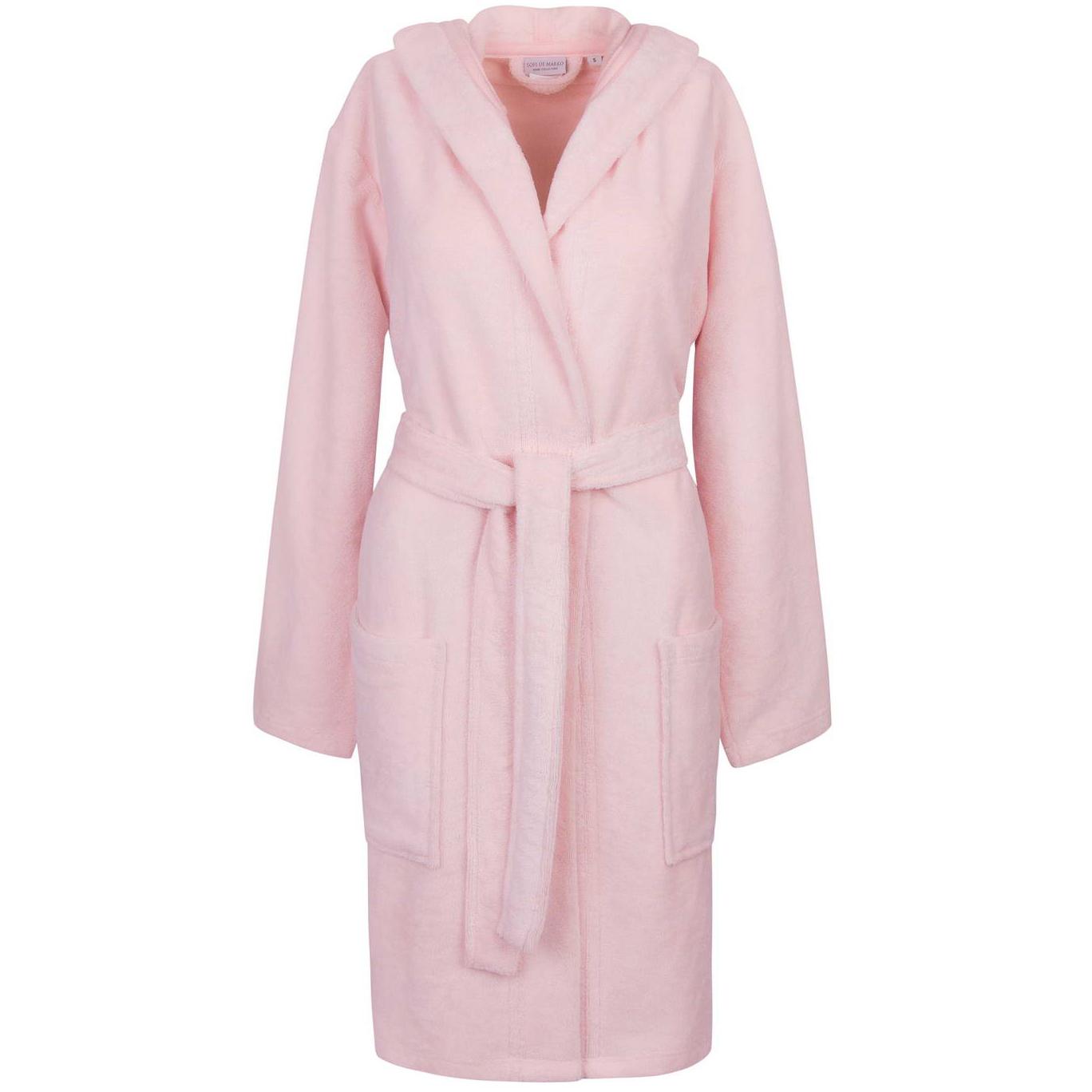 Фото - Халат махровый Sofi De Marko Шанти розовый XL халат махровый sofi de marko шанти бежевый m