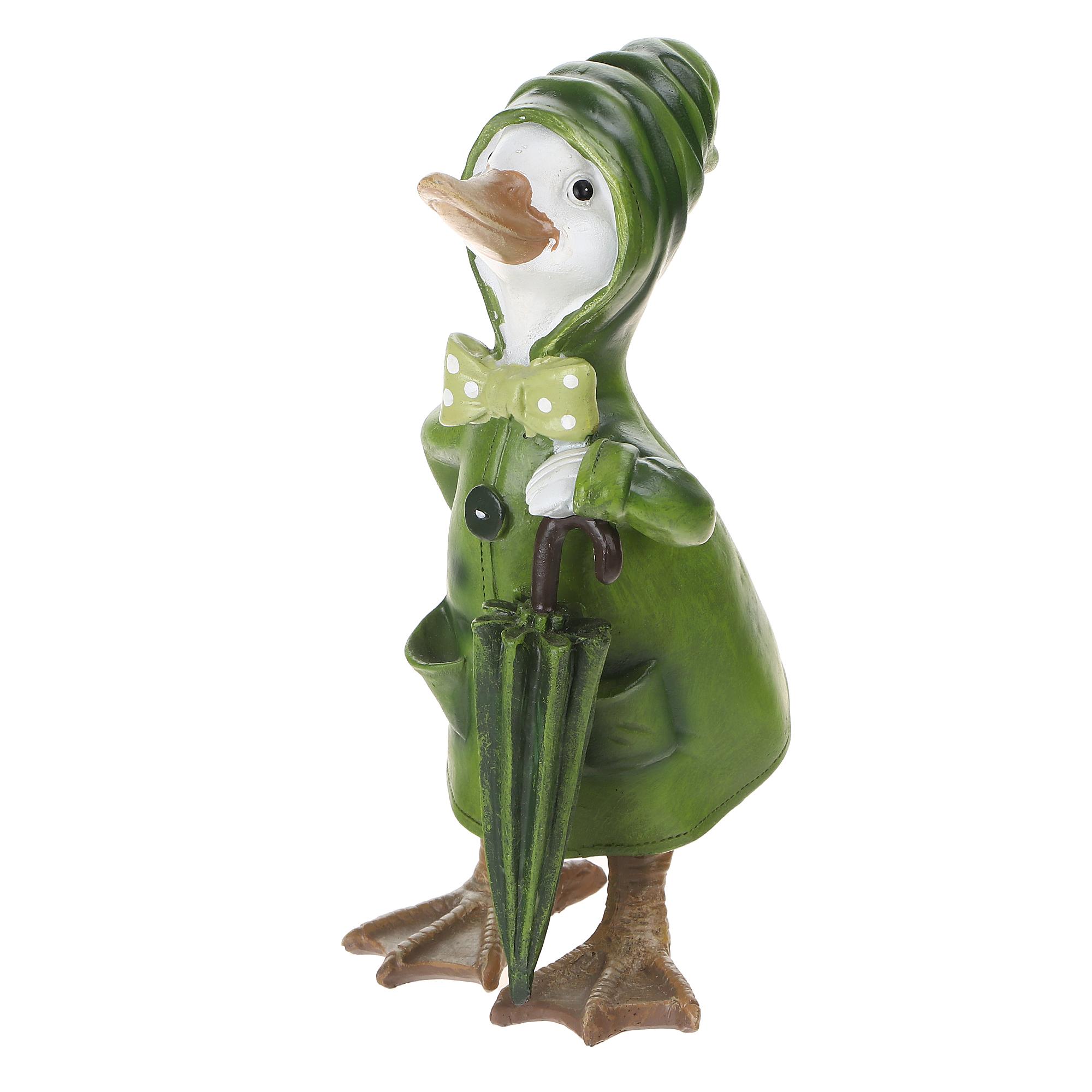 Фигура садовая Kaemingk garden Утка 18х26 см в ассортименте садовая фигура утка цветная мал 30 20 46 см f01271 1145141