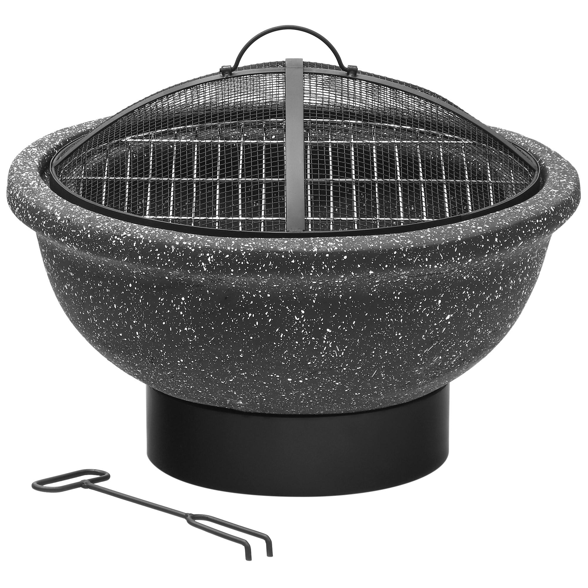 Набор Koopman BBQ Мангал садовый с кочергой 49x49x34 см