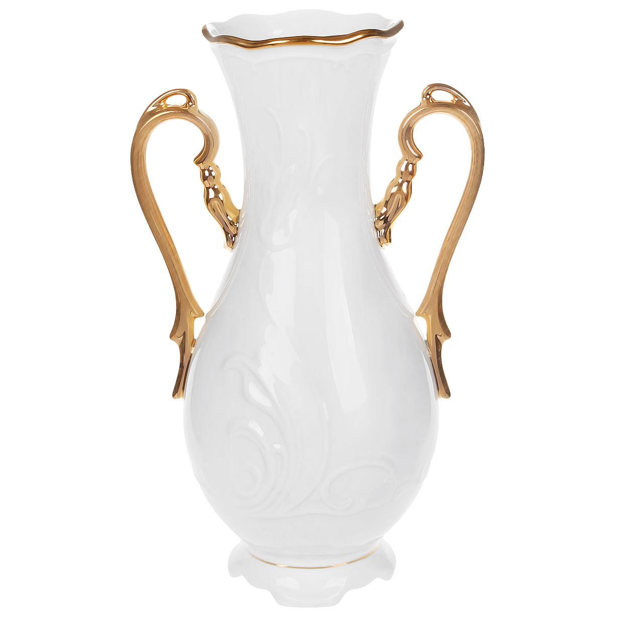 ваза thun ваза Ваза Thun Tulip Белоснежный тюльпан 30 см
