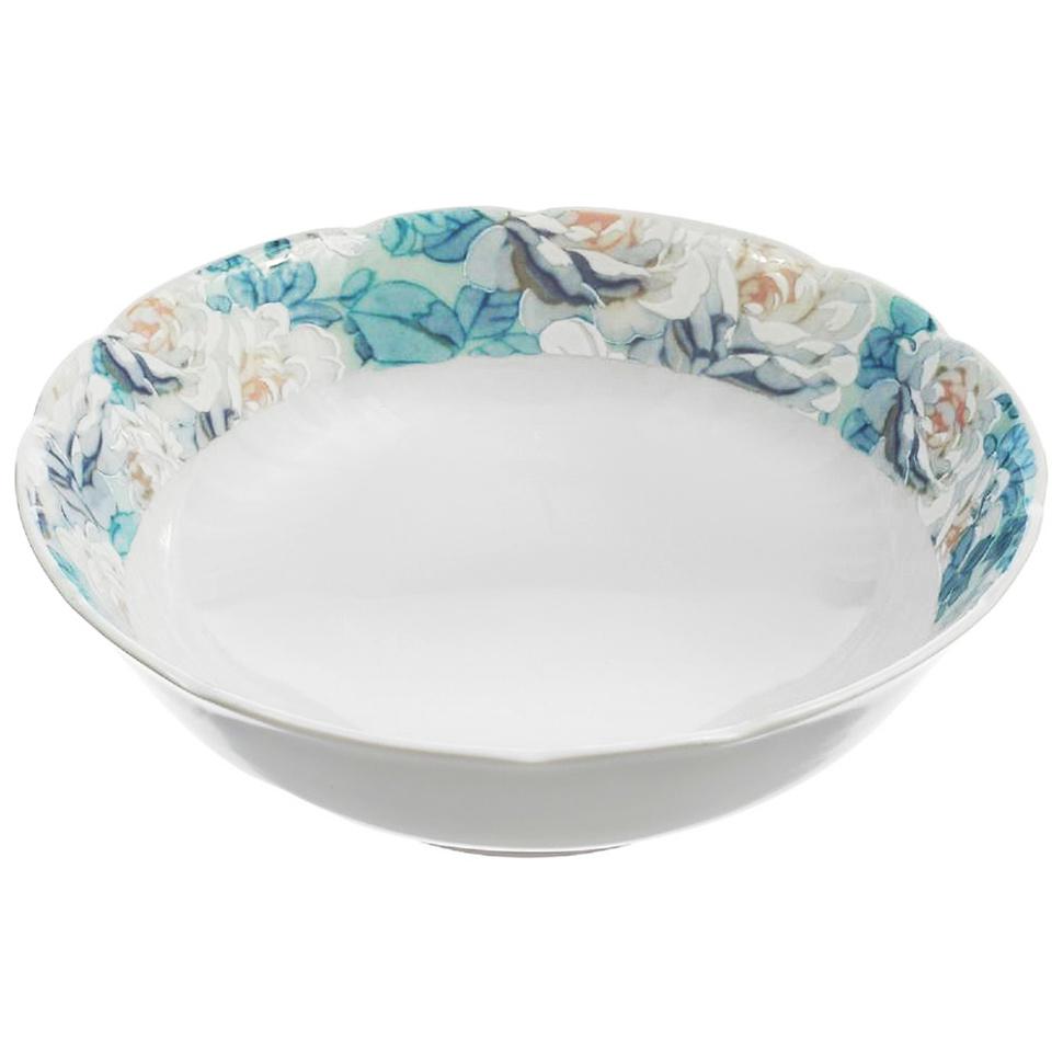 Фото - Салатник круглый Thun Голубая роза 13 см салатник круглый thun голубая роза 16 см