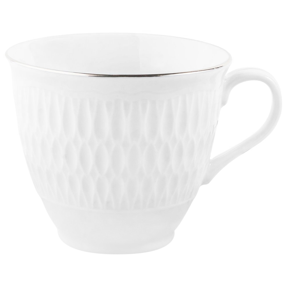 Чашка чайная Cmielow Sofia отводка платина 220 мл