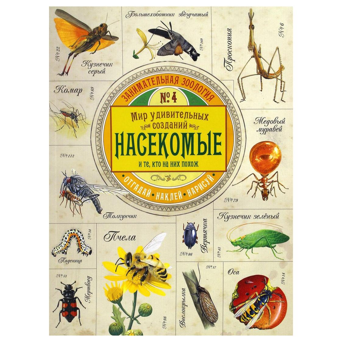 Книга Лабиринт Пресс Занимательная зоология. Насекомые недорого