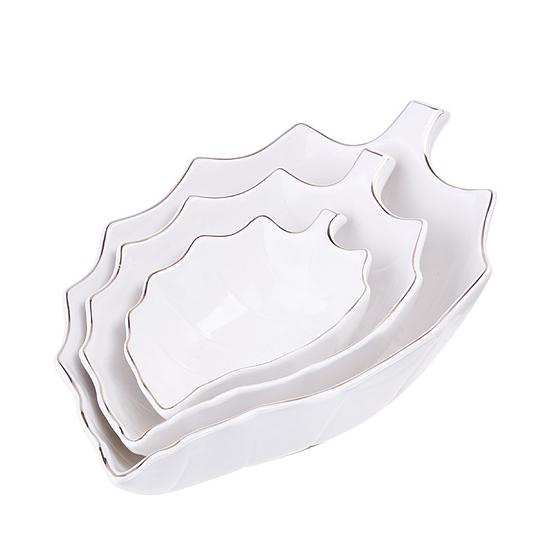 Набор сервировочных блюд Loraine керамика 3 шт loraine 1 5 л 29699