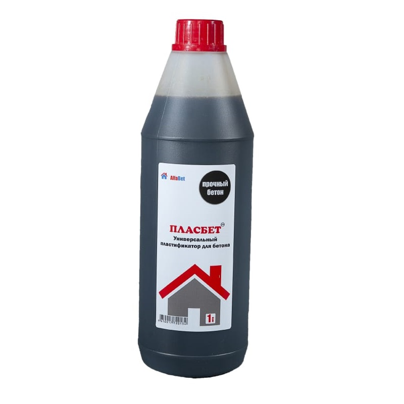 Пластификатор повышающий прочность бетона Пласбетон Alfabet 1л