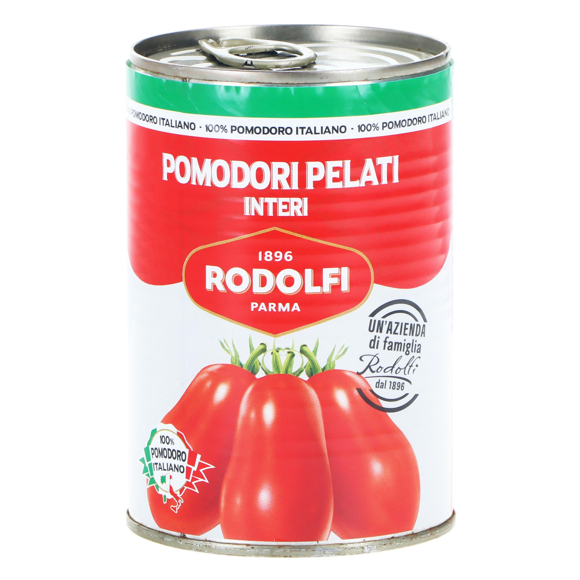 Томаты Rodolfi очищенные, 400 г