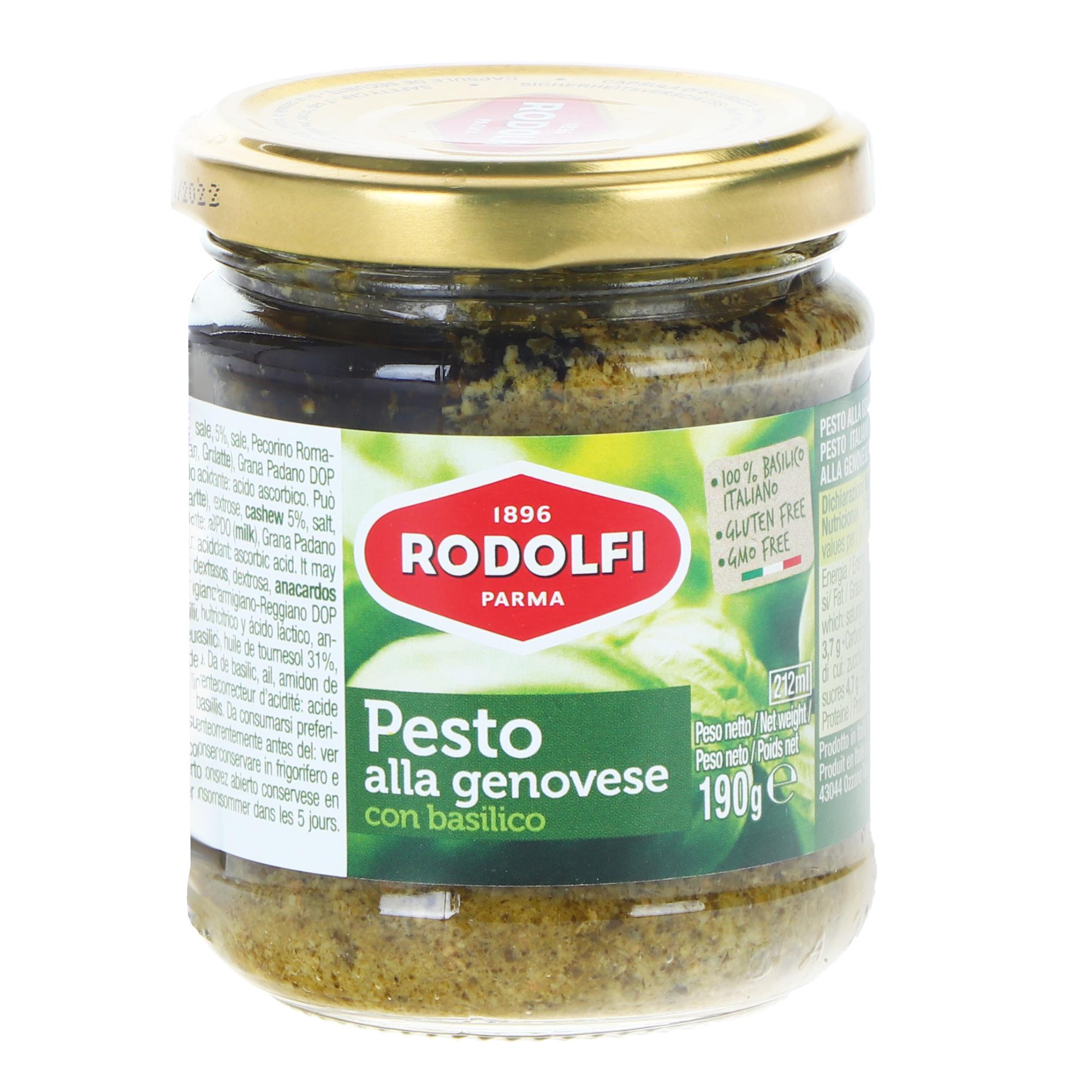 Соус песто Rodolfi зеленое, 190 г