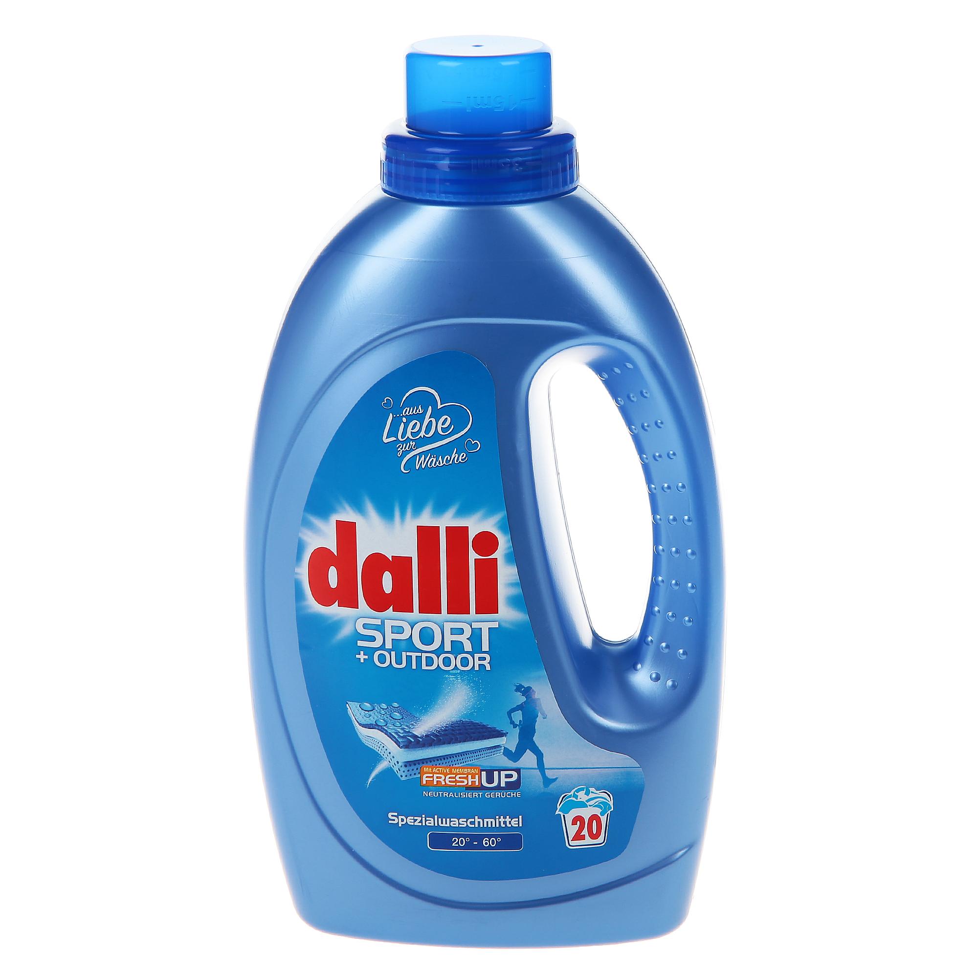 Фото - Гель для стирки Dalli Sport&Outdoor 1,1 л гель для стирки dalli sport