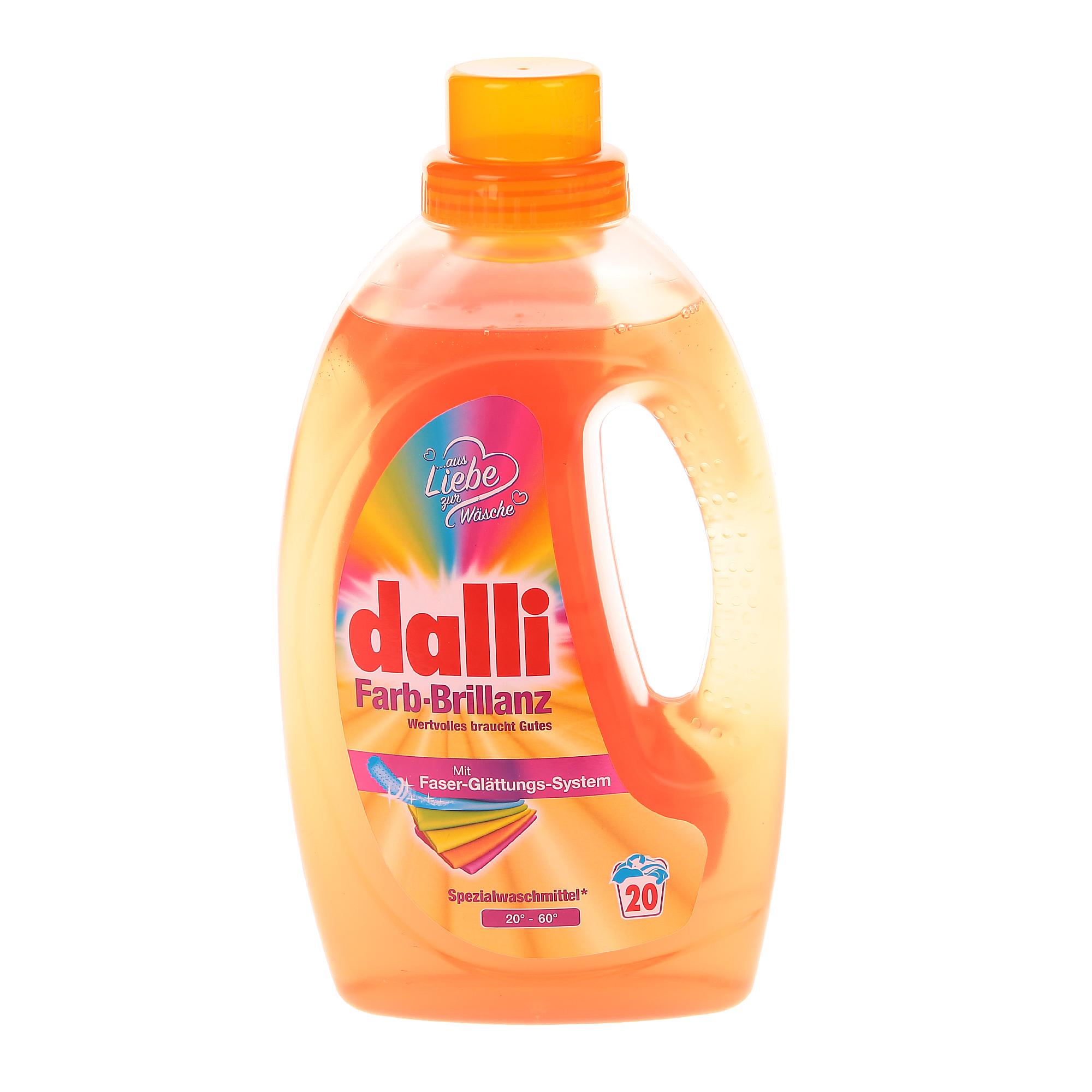 Фото - Гель для стирки цветного белья Dalli Color 1,1 л гель для стирки dalli sport