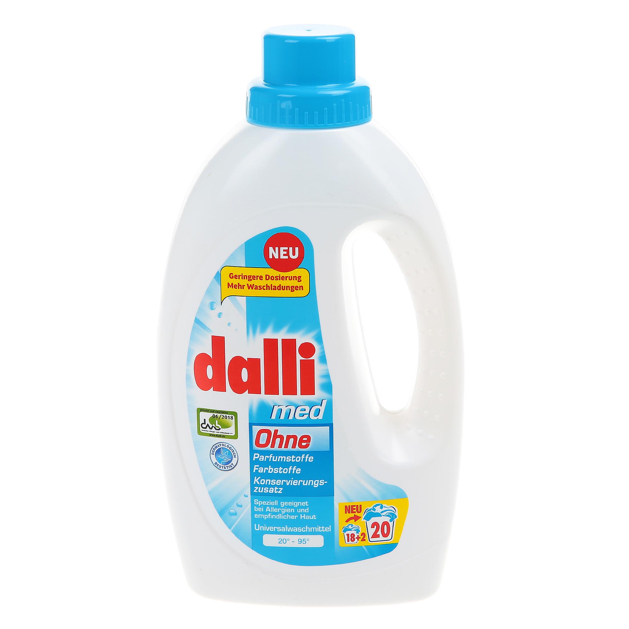 Фото - Гель для стирки Dalli Med гипоаллергенный 1,1 л гель для стирки dalli sport