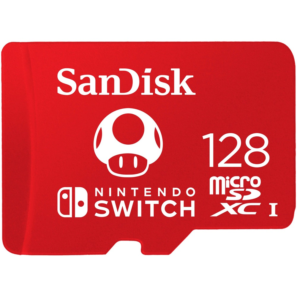 Фото - Карта памяти Sandisk microSDXC 128Gb Nintendo Cobranded elecall smart swich touch switch wall light touch screen switch led indicator crystal glass switch panel sk a801m eu