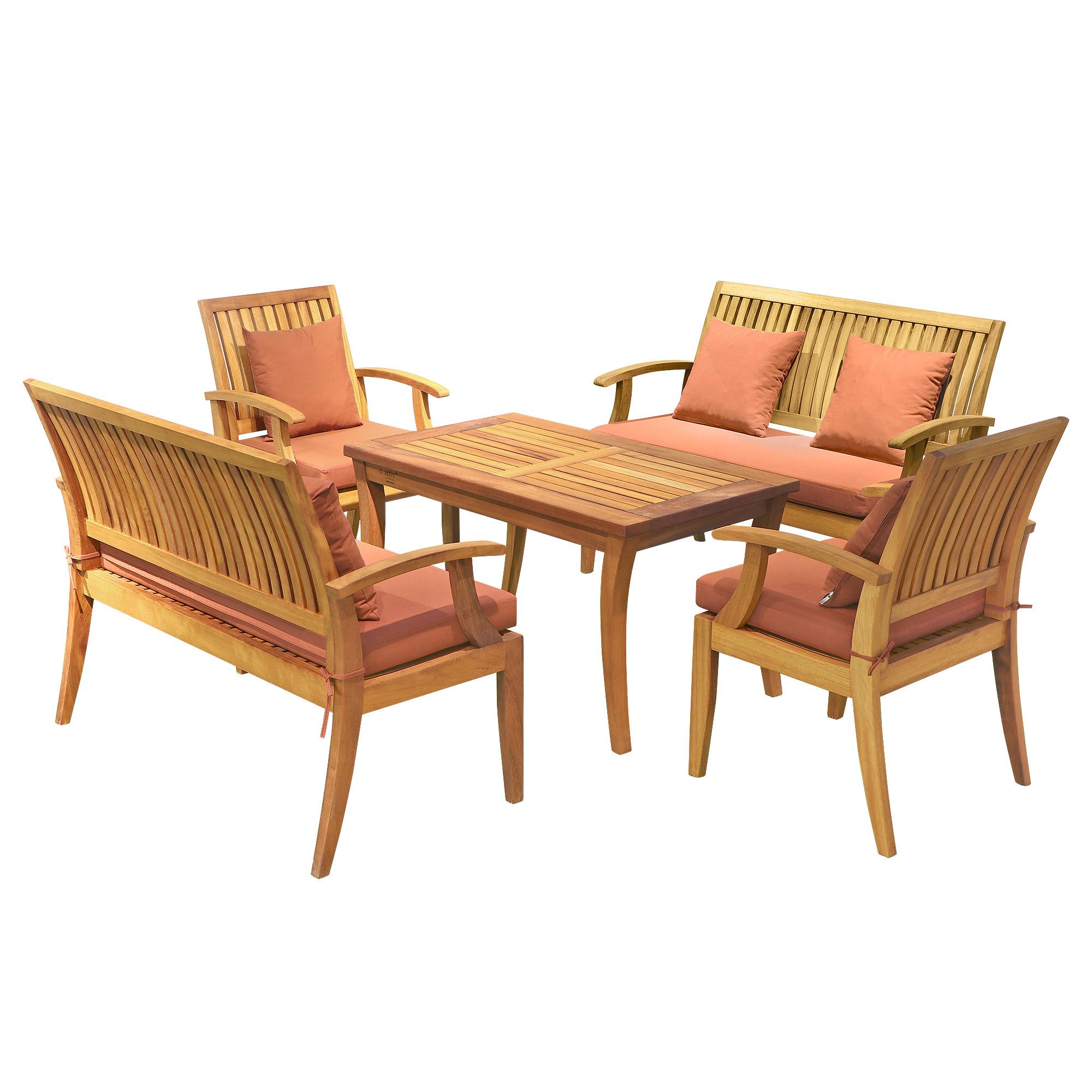 Комплект Root art Alya 5 предметов мебель для дачи