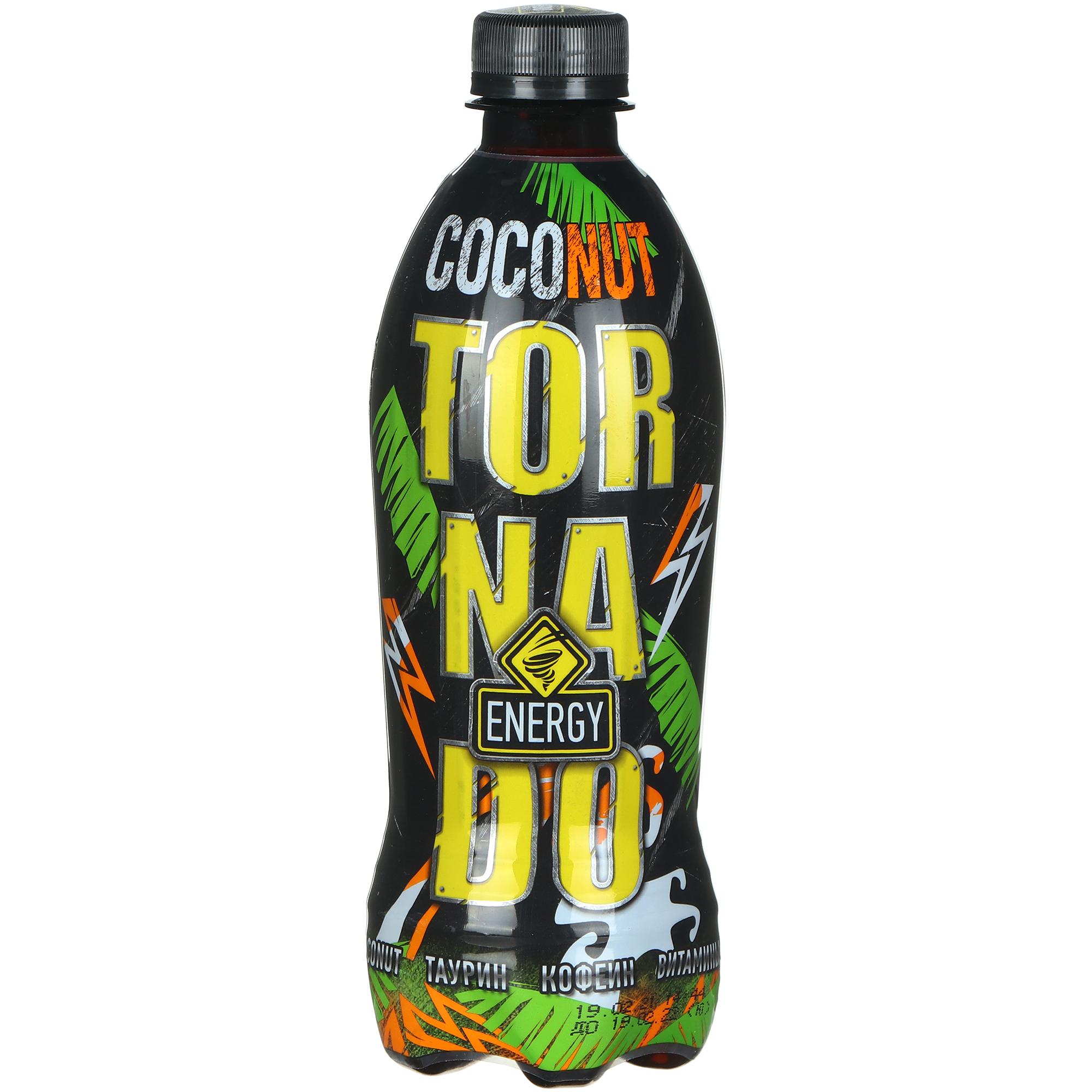 Напиток энергетический Tornado Energy Сoconut, 473 мл