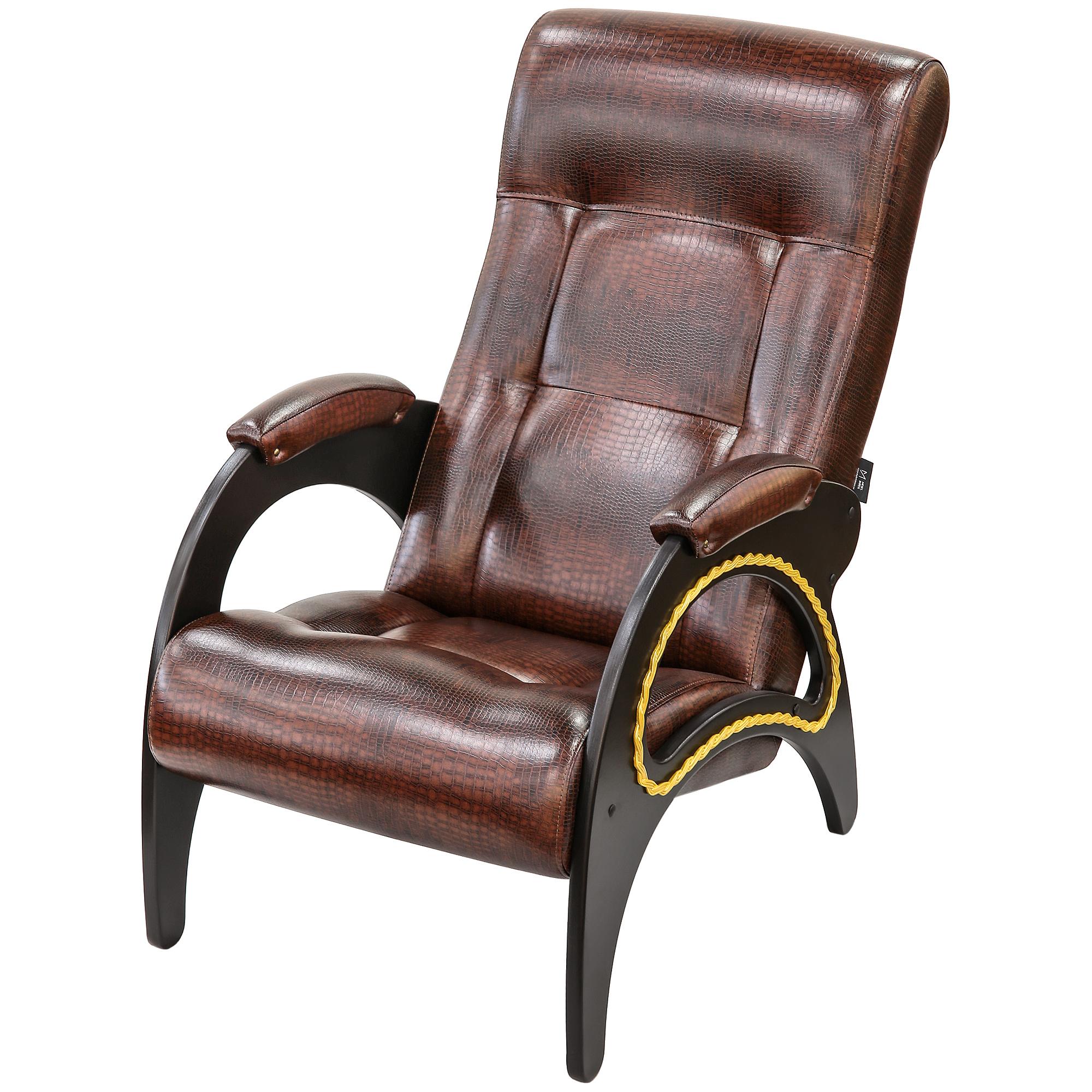 Кресло Комфорт-мебель Кендра Венге Кроко недорого
