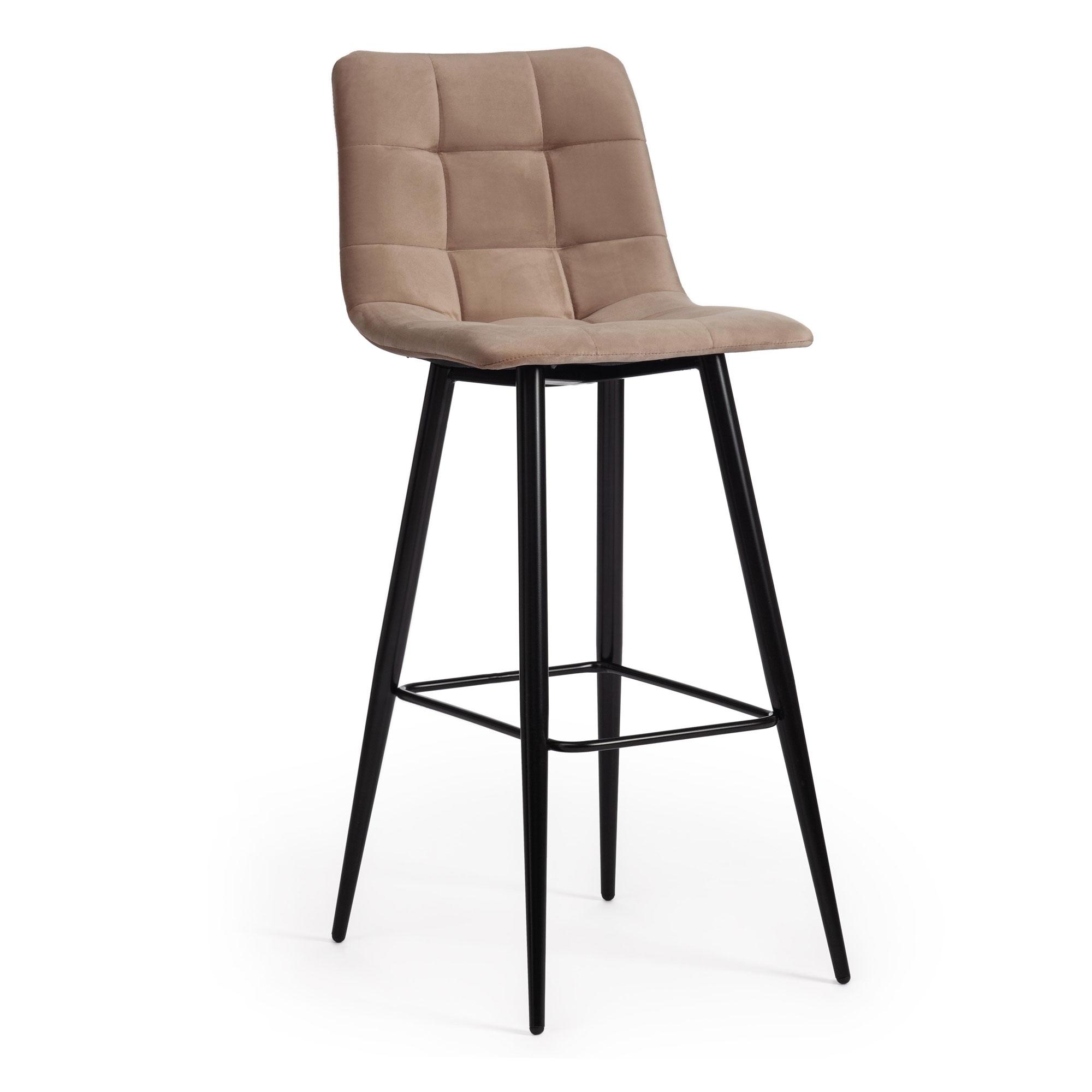Стул барный ТС 50х44х104 см бежевый барный стул tc черный 5xx43x102 5 см