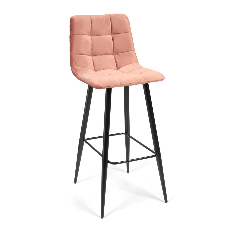 Стул барный ТС 50х44х104 см коралловый барный стул tc черный 5xx43x102 5 см