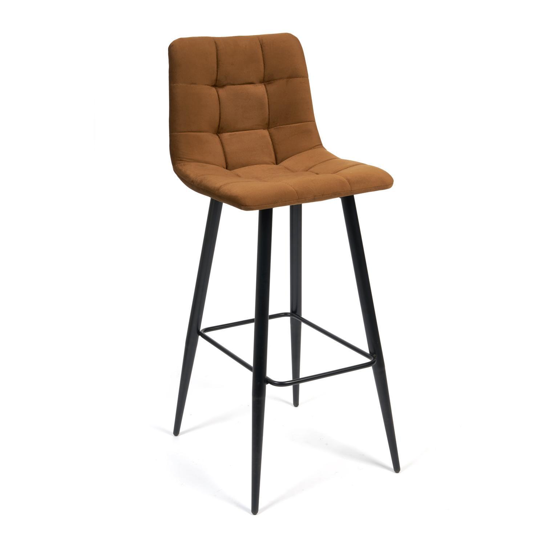 Стул барный ТС 50х44х104 см коричневый барный стул tc черный 5xx43x102 5 см