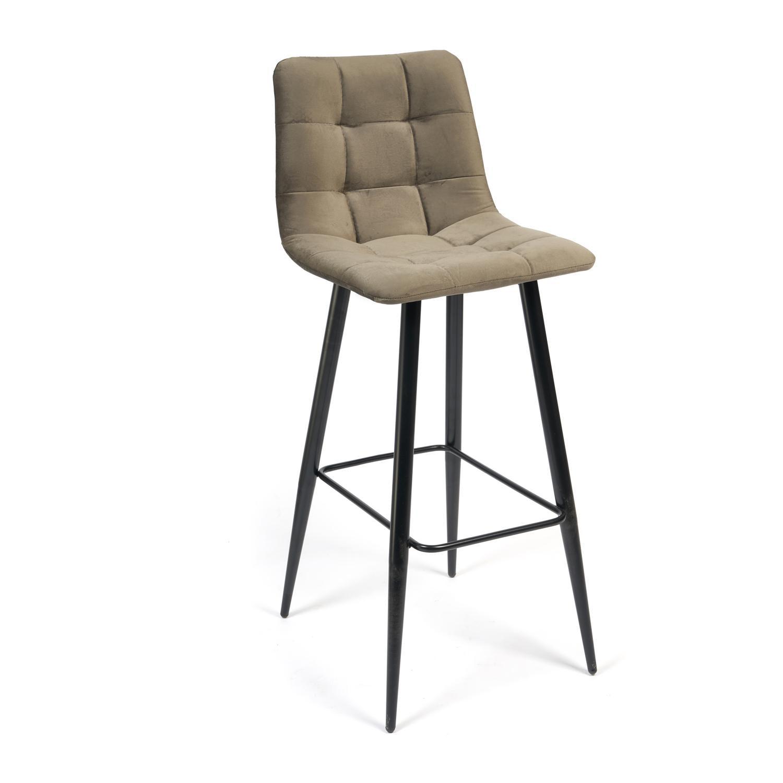 Стул барный ТС 50х44х104 см тёмно-серый барный стул tc черный 5xx43x102 5 см